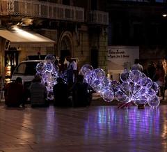 Lights in square (valeriaconti136) Tags: ostuni puglia vacanze luci lights square piazzadellalibertà sanoronzo borghiitaliani canoneos80d