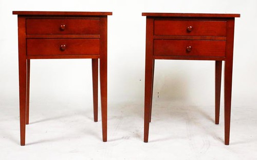 Pair of Clore 2-drawer End Tables ($448.00)