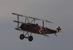 2019_08_0537 (petermit2) Tags: fokkerdr1triplane fokkerdr1 fokker dr1 triplane greatwardisplayteam eastkirkbyairshow2019 eastkirkbyairshow eastkirkby airshow spilsby lincolnshire