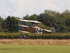 2019_08_0224 (petermit2) Tags: fokkerdr1triplane fokkerdr1 fokker dr1 triplane greatwardisplayteam eastkirkbyairshow2019 eastkirkbyairshow eastkirkby airshow spilsby lincolnshire
