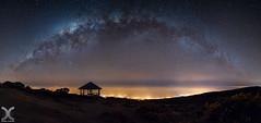 Astro Gazebo (DanielKHC) Tags: reunion island france iledelareunion milky way astrophotography sky night stars galaxy gazebo maido seaofclouds nikon d850 nikkor19mmtiltshift panorama voielactee
