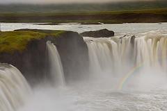 GODAFOSS (ADRIANO ART FOR PASSION) Tags: islanda iceland islande cascata waterfall godafoss fiume acqua nikon nikond90 arcobaleno rainbow 18200 55mm natura natureshot