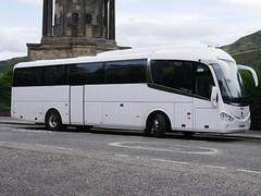 Minsterley Motors of Stiperstones Scania K360IB4 Irizar i6 YT15AWC at Regent Road, Edinburgh, on 21 August 2019. (Robin Dickson 1) Tags: busesedinburgh minssterleymotorsofstiperstone yt15awc scaniak360ib4 irizari6 bullocksofcheadle