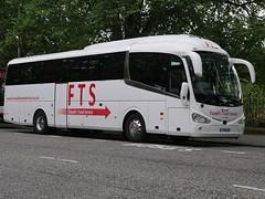 Fussell's Travel Service of Ulverston Scania K360IB4 Irizar i6 YT19DXP at Regent Road, Edinburgh, on 21 August 2019. (Robin Dickson 1) Tags: busesedinburgh yt19dxp scaniak360ib4 irizari6 fussellstravelserviceofulverston
