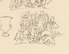 This image is taken from Page 427 of Répertoire des vases peints grecs et étrusques, Vol. 1 (Medical Heritage Library, Inc.) Tags: vasepainting greek etruscan vases wellcomelibrary ukmhl medicalheritagelibrary europeanlibraries date1924 idb298284660001