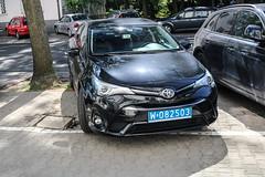 Poland CD (Angola) - Toyota Avensis Sedan (PrincepsLS) Tags: poland polish diplomatic license plate warsaw spotting 82 angola toyota avensis sedan