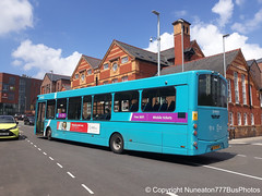 CX12DSY 3142 Arriva Buses Wales in Chester (Nuneaton777 Bus Photos) Tags: arriva buses wales wright pulsar cx12dsy 3142 chester
