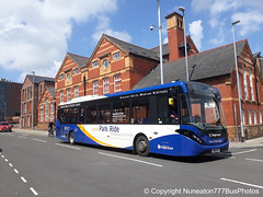SN16OPT 26061 Stagecoach Merseyside and South Lancashire in Chester (Nuneaton777 Bus Photos) Tags: stagecoach merseysideandsouthlancashire adl enviro 200mmc sn16opt 26061 chester