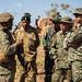U.S. Marines engage with international visitors during Exercise Koolendong
