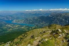 RU_201908_Parapente_011_x (boleroplus) Tags: horizontal lac montagnes montclar parapente paysage provencealpescotedazur france