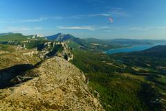 RU_201908_Parapente_082_x (boleroplus) Tags: decollage horizontal lac montagnes moustiers parapente paysage vueaerienne moustierssaintemarie provencealpescotedazur france