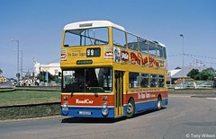 LJA622P Roadcar 1306 (theroumynante) Tags: lja622p roadcar 1306 leyland atlantean northern counties skegness greater manchester pte bus buses doubledeck stepentrance opentop road transport