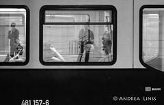 public transport ... (andrealinss) Tags: berlin bw berlinstreet blackandwhite berlinstreets schwarzweiss street streetphotography streetfotografie publictransport publictransportpassenger andrealinss 35mm