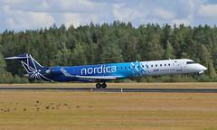 Airport Stockholm-Arlanda (ARN/ESSA) 21.08.2019 (axeljanssen) Tags: crj900 bombardier sas nordica arlanda esacg schweden flugzeuge