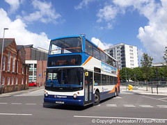 PX04DPV 18156 Stagecoach Merseyside and South Lancashire in Chester (Nuneaton777 Bus Photos) Tags: stagecoach merseysideandsouthlancashire alx400 px04dpv 18156 chester
