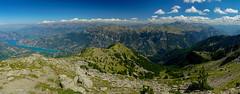 RU_201908_Parapente_013_x (boleroplus) Tags: horizontal lac montagnes montclar nuage parapente paysage provencealpescotedazur france