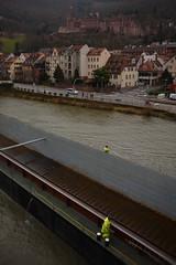 Heidelberg on a shi*tty day (*Vasek*) Tags: germany deutschland heidelberg europe nikon d7100 castle burg river architecture