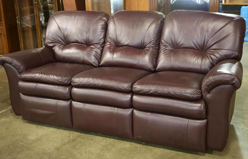 Lazy-Boy Leather Sofa ($1,120.00)
