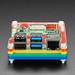 Rainbow Pibow Coupé 4 for Raspberry Pi 4