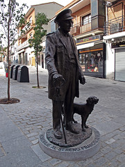 El Sereno (Rafa Gallegos) Tags: navalcarnero madrid españa spain estatua statue elsereno