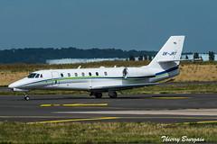 [CDG] SmartWings Cessna Citation Sovereign+ _ OK-JRT (thibou1) Tags: thierrybourgain cdg lfpg spotting aircraft airplane nikon d810 tamron sigma smartwings cessnacitationsovereign okjrt taxiing