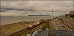6K41 - take 2. (peterdouglas1) Tags: 6k41 valleyflasks llanfairfechan greatorme northwalescoast a55expressway footbridges