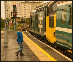 A moment in time! (peterdouglas1) Tags: class37 englishelectric largelogo transportforwales