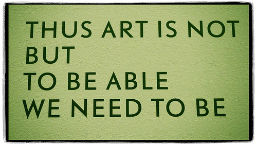 Thus Art is not