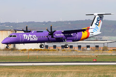 G-PRPI_06 (GH@BHD) Tags: gprpi dehavilland bombardier dhc dhc8 dhc8402q dasheight be bee flybe bhd egac belfastcityairport turboprop aircraft aviation airliner