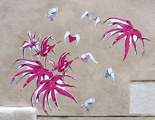 Pasted paper by FÉ-tavie [Paris 1er]