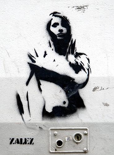 Stencil by Zalez [Paris 6e]