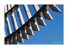 Facade (PeteZab) Tags: facade modern abstract pattern curve repetition peterzabulis light shadow bluesky