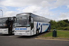 Butler Brothers Coaches (Hesterjenna Photography) Tags: but2b ae03dda coach psv bus butler skegness lincolnshire fowlers volvo jonckheere modulo excursion tour
