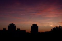 Nightfall / Сумерки (Boris Kukushkin) Tags: minsk belarus sunset sky clouds silhouette skyline arsat 50mm f14 минск беларусь закат небо облака силуэт линиягоризонта арсат сумерки twilight halflight