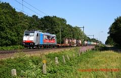 "Rpool 186 498 ""DB Cargo"" (Phil.Kn.) Tags: bombardier traxx 186 ms2e rpool railpool db dbc dbcargo dbcargonederland containerzug eisenbahn trein"