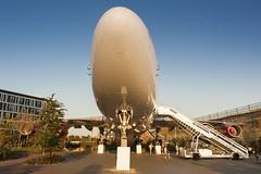 Big nose (Arne Kuilman) Tags: corendon corendonvillagehotel 747 747400 nose front badhoevedorp zeiss 25mm sunset cityofbangkok klm airplane plane phbfb tuin garden attraction attractie neus angle