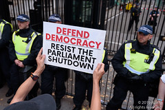"""""""Stop the Coup"""" protest - London, 28th August 2019 (The Weekly Bull) Tags: borisjohnson brexit downingstreet eu europeanunion london parliament prorogue sovereignty uk westminster whitehall democracy demonstration protest roadblock"""