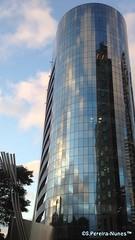 """Modern """"Landmark Nações Unidas"""" Building, Berrini, São Paulo, Brazil (Sebastiao P Nunes) Tags: edificios marginaldepinheiros saopaulo buildings predios iphone nunes snunes spnunes spereiranunes"""