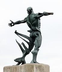 "Jesús González de la Vega ""Alma de costa"" ou ""Estatua de los Vientos"" (Thethe35400) Tags: sculpture escultura eskultura skulptur estatua scultura scukpture skulpturen"