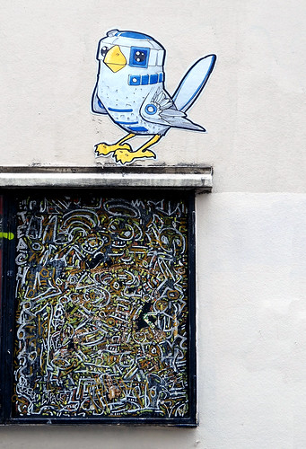 Pasted paper by Moano [Paris 6e]