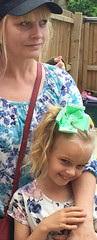 Alice and me June 2016 (colourandkeep) Tags: nanny granddaughter photograph family iloveyoualice