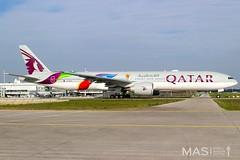 Qatar Airways B777-300ER A7-BAX @ MUC (MASAviation) Tags: qatar qatarairways a7bax aviation avgeek avion aviator aviationpic aviationphotography avporn aviationdaily aviationpicture boeing boeinglovers b777 muc munich mucairport mucmoments mucmovements