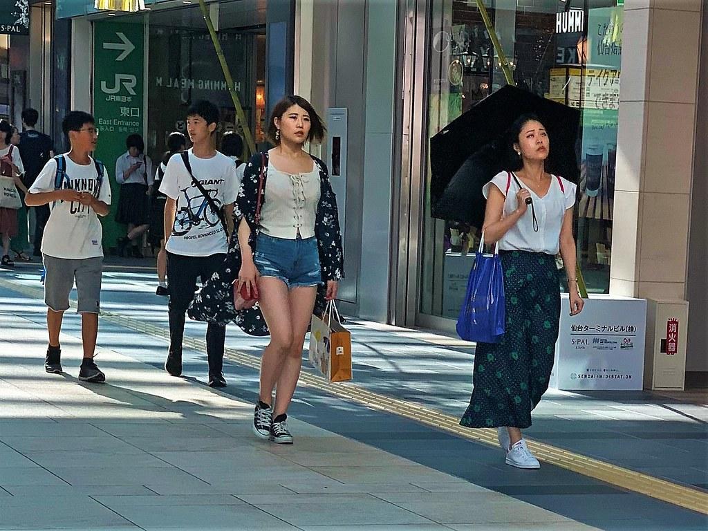 Woman Sendai