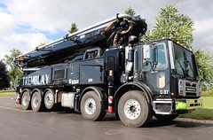 Tremblay Concrete Pumping Truck (raserf) Tags: tremblay concrete cement truck trucks pump pumper pumping putzmeister mack sturtevant wisconsin racine county pompes a beton inc longueuil quebec canada