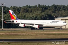 Philippine Airlines A340-300 RP-C3435 @ TXL (MASAviation) Tags: aviation avgeek avion aviator aviationpic aviationphotography avporn aviationdaily aviationpicture spotter spotting