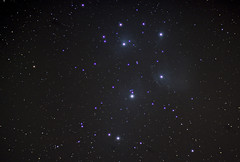 PLEIADES 001-2 (Jonathan Demery) Tags: stars star cluster astro astrophotography m45 astronomy messier pleiades astrometrydotnet:id=nova3614591 astrometrydotnet:status=solved