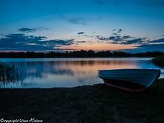 Kyrksjön Sonnenuntergang 082019 02 (U. Heinze) Tags: schweden sverige sweden wasser himmel sky nature natur olympus omd em1markii