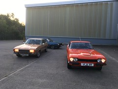 Photo of Classic Ford photoshoot Mk1,Mk2 and Mk3 Capris