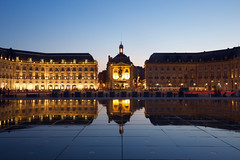 Bordeaux 2019 IMG_2975.CR2 (Daniel Hischer) Tags: architecture bordeaux city dusk france longexposure nightlights nightphotography placedelabourse watermirror