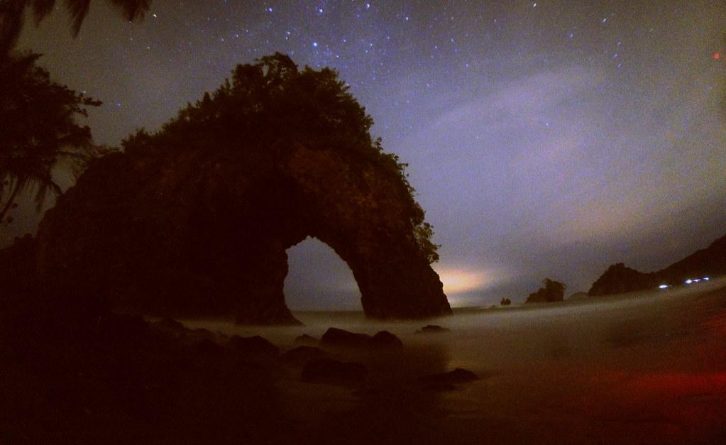 Paria Bay Arch at Night